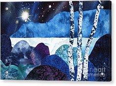 Winter Moon 2 Acrylic Print