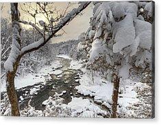 Winter Morning Acrylic Print by Bill Wakeley