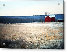 Winter Morning  Acrylic Print by Meaghan Troup
