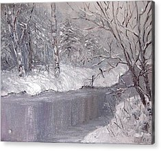 Winter Acrylic Print