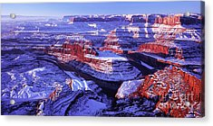 Winter Of Dead Horse Point Acrylic Print