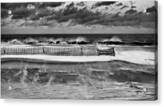 Winter On Long Island Acrylic Print