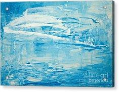 Winter On Walden Acrylic Print