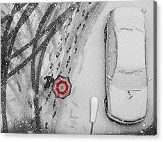 Winter Passengers Acrylic Print
