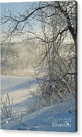 Acrylic Print featuring the photograph Winter Pastorale IIi by Jessie Parker