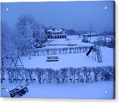 Winter Playground Acrylic Print