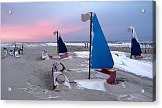 Winter Playland Acrylic Print