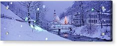 Winter Ramsau Germany Acrylic Print by Panoramic Images