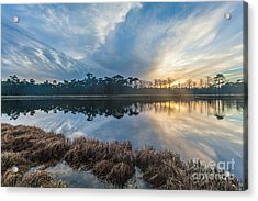 Winter Reflection-1 Acrylic Print