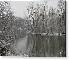Winter Reflections 1 Acrylic Print