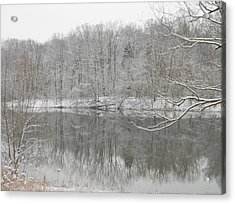 Winter Reflections 2 Acrylic Print