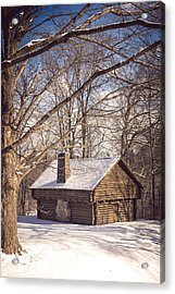 Winter Retreat Acrylic Print