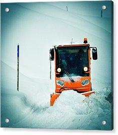 Winter Road Clearance Acrylic Print