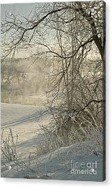 Winter Romance IIi Acrylic Print by Jessie Parker