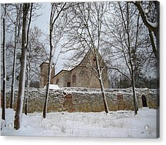 Acrylic Print featuring the photograph Old Monastery by Gabriella Weninger - David