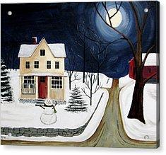 Winter Solo Acrylic Print by Kori Vincent