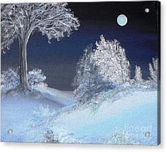 Winter Solstice Acrylic Print by Alys Caviness-Gober