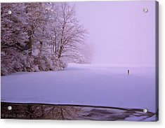 Acrylic Print featuring the photograph Winter Solstice by Brenda Jacobs