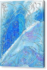 Winter Solstice  Acrylic Print by Shawna Rowe