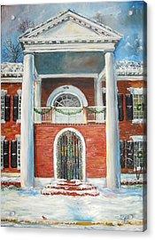 Winter Spirit In Dahlonega Acrylic Print