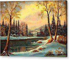 Winter Splendor Acrylic Print