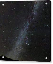 Winter Stars Without Light Pollution Acrylic Print by Eckhard Slawik