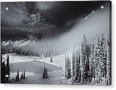Winter Storm Clears Acrylic Print