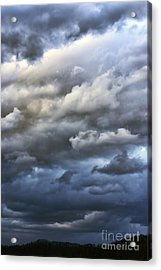 Winter Storm Clouds Acrylic Print