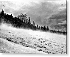 Winter Storm Acrylic Print