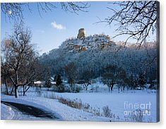Winter Sugarloaf At East Lake Acrylic Print