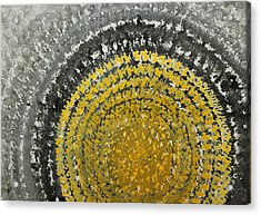 Winter Sun Original Painting Acrylic Print