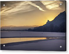 Winter Sunrise Acrylic Print