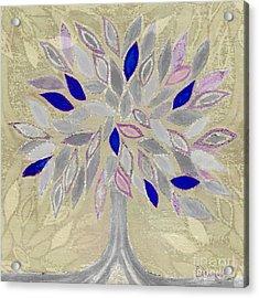 Winter Tree Acrylic Print by Barbara Moignard