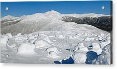Winter View From Mount Pierce Acrylic Print