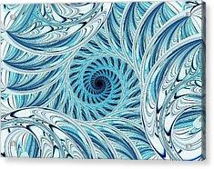 Winter Vortex Acrylic Print