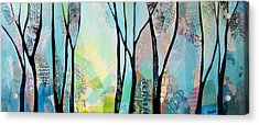 Winter Wanderings I Acrylic Print by Shadia Derbyshire