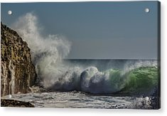 Winter Waves Acrylic Print