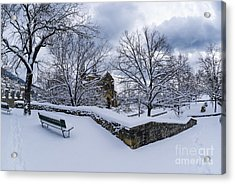 Winter Welcome Acrylic Print