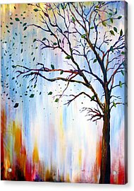 Winter Windstorm Acrylic Print