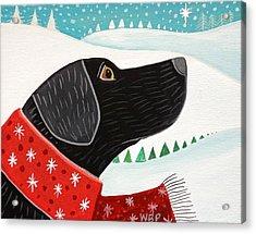 Winter Wish Acrylic Print by Wendy Presseisen
