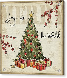 Winter Wishes I Acrylic Print by Anne Tavoletti