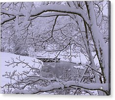 Winter Wonderland 2 Acrylic Print by Mike McGlothlen
