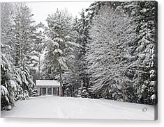Acrylic Print featuring the photograph Winter Wonderland by Barbara West