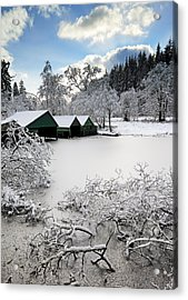 Winter Wonderland Acrylic Print by Grant Glendinning