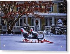 Winter Wonderland II Acrylic Print by Tricia Marchlik