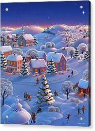 Winter Wonderland  Acrylic Print by Robin Moline