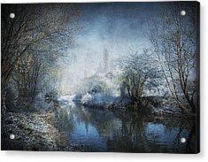 Winter Wonderland Acrylic Print by Svetlana Sewell