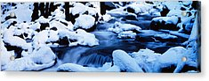 Winter Yosemite National Park Ca Acrylic Print by Panoramic Images