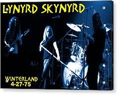 Winterland 4-27-75 Acrylic Print