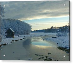 Acrylic Print featuring the photograph Winterlude by Elaine Franklin